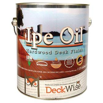 DeckWise Ipe Oil Hardwood Deck Finish