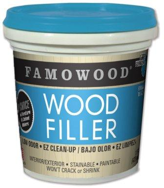 FAMOWOOD Latex Wood Filler - Red Oak - Pint