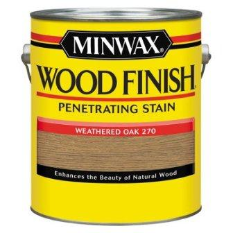 Minwax 71047 Gallon With Oak Wood Finish