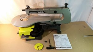 RYOBI 16 in Corded Scroll Saw #SC165VS