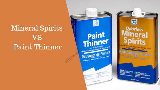 Mineral Spirits vs Paint Thinner
