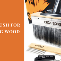 best brush for staining wood
